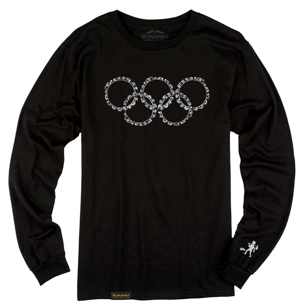Olympic ouroboros longsleeve tee product pic