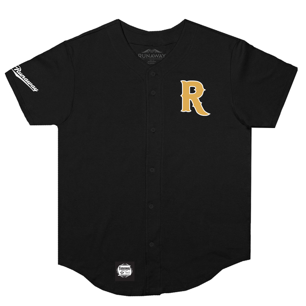Home team baseball jersey front