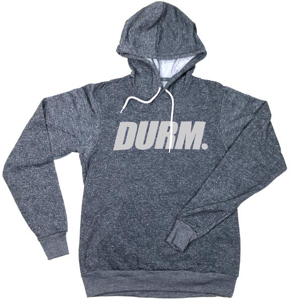 Peppered gray durm hoodie runaway